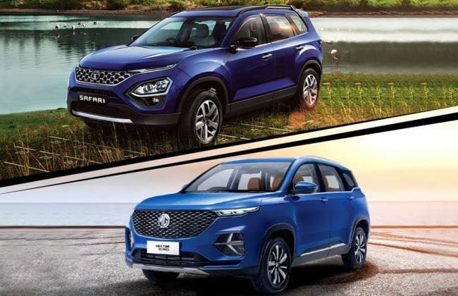 Tata Safari vs MG Hector Plus: Which Variant Of These SUVs Offers Better Value? - CarDekho