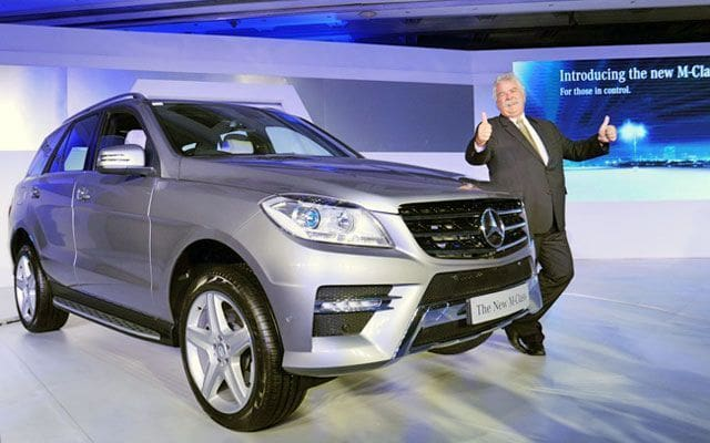 Mercedes-Benz M-Class ML 350 CDI Corporate On Road Price