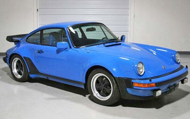 1979 Porsche 911 owned by Bill Gates Goes up for Auction