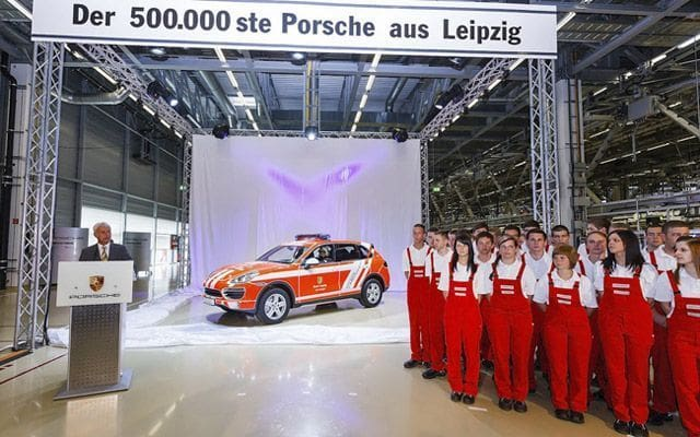 Porsche Cayenne Rolls Out the 500,000th Vehicle