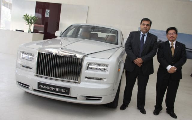 Rolls-Royce Phantom Series II comes to North India