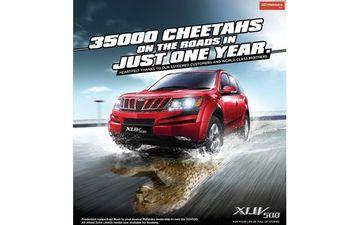 Mahindra XUV500 Crosses 35,000 Sales Units in an Year