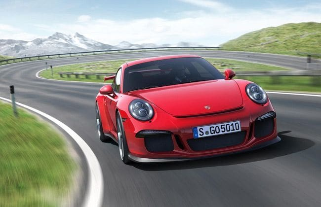 The new Porsche 911 GT3 is here.