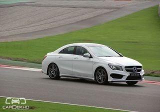 Mercedes-Benz CLA 45 AMG: Track Test