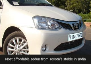 2014 Toyota Etios facelift: First Drive