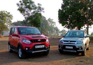 Maruti Vitara Brezza vs Mahindra NuvoSport | Comparison Review