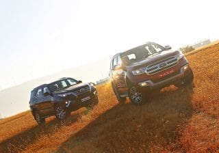 Toyota Fortuner vs Ford Endeavour: Comparison Review