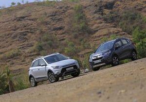 Honda WR-V vs Tata Nexon Comparison - Prices, Specs, Features