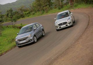Maruti Dzire vs Honda Amaze 2018: Diesel Comparison Review