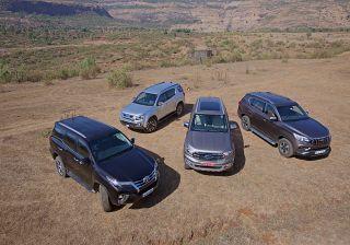 Mahindra Alturas G4 vs Ford Endeavour vs Toyota Fortuner vs Isuzu MU-X:  Comparison Review Expert Review