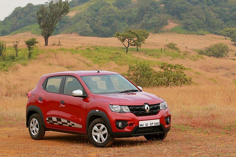 Renault Kwid 1.0-litre AMT