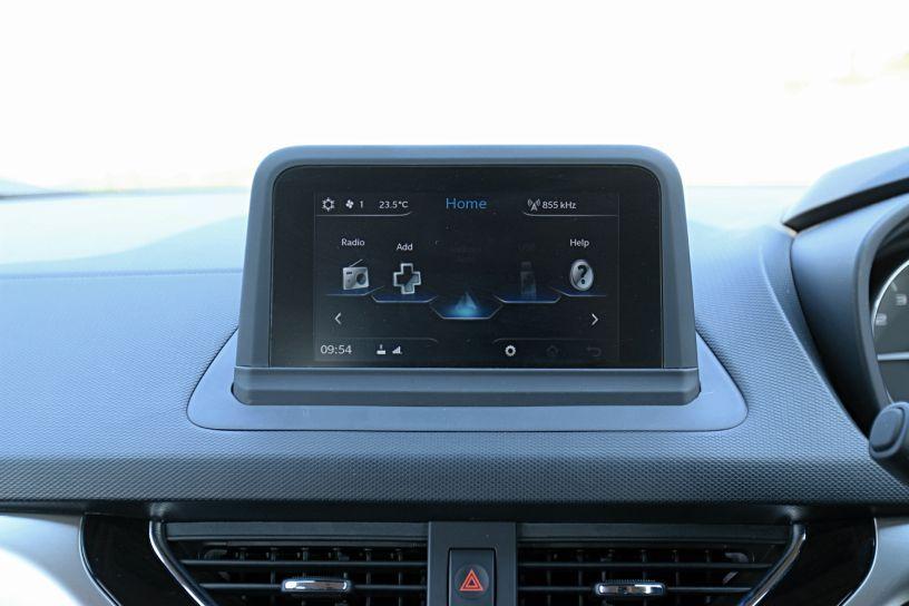 Tata Nexon's free-floating display