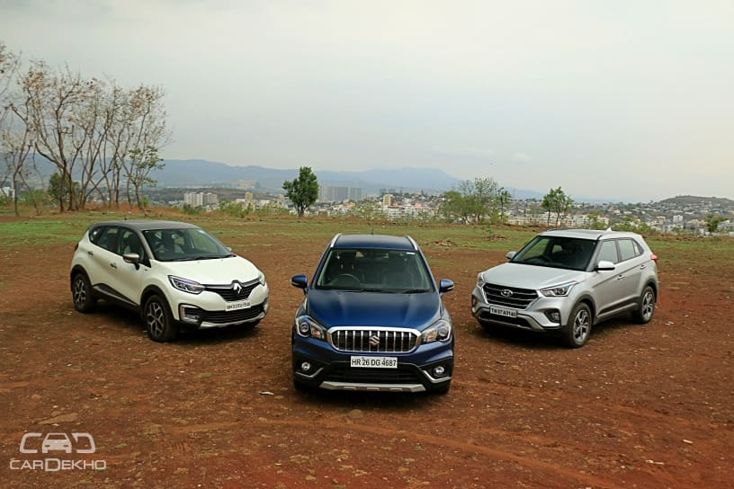 Creta vs Captur vs S Cross