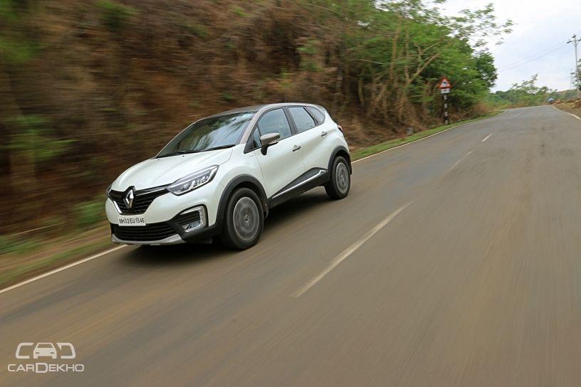 Renault Captur Platine