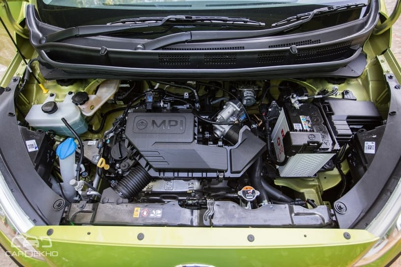 1.1-litre petrol engine