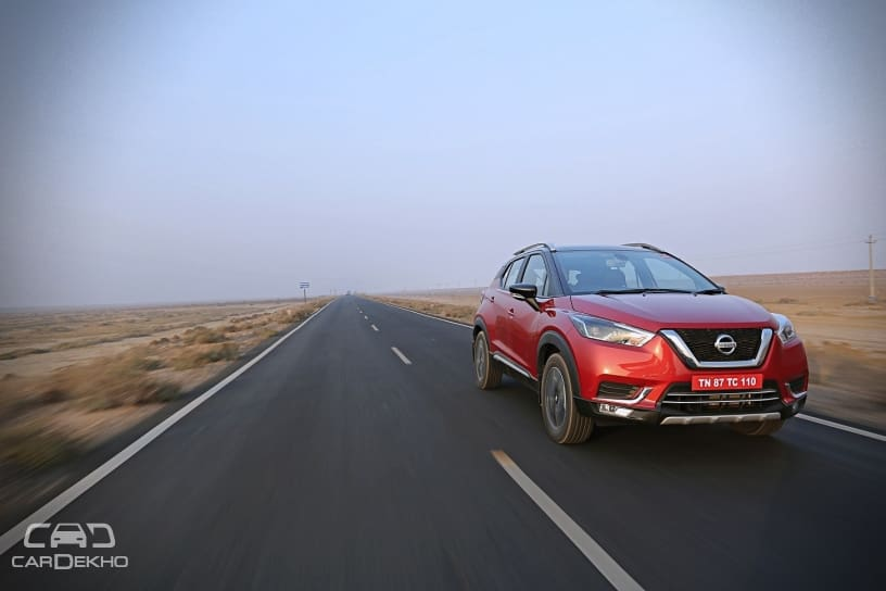 India-spec Nissan Kicks