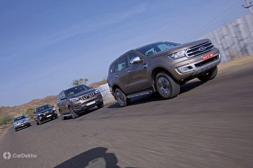 Mahindra Alturas G4 vs Ford Endeavour vs Toyota Fortuner vs Isuzu MU-X:  Comparison Review