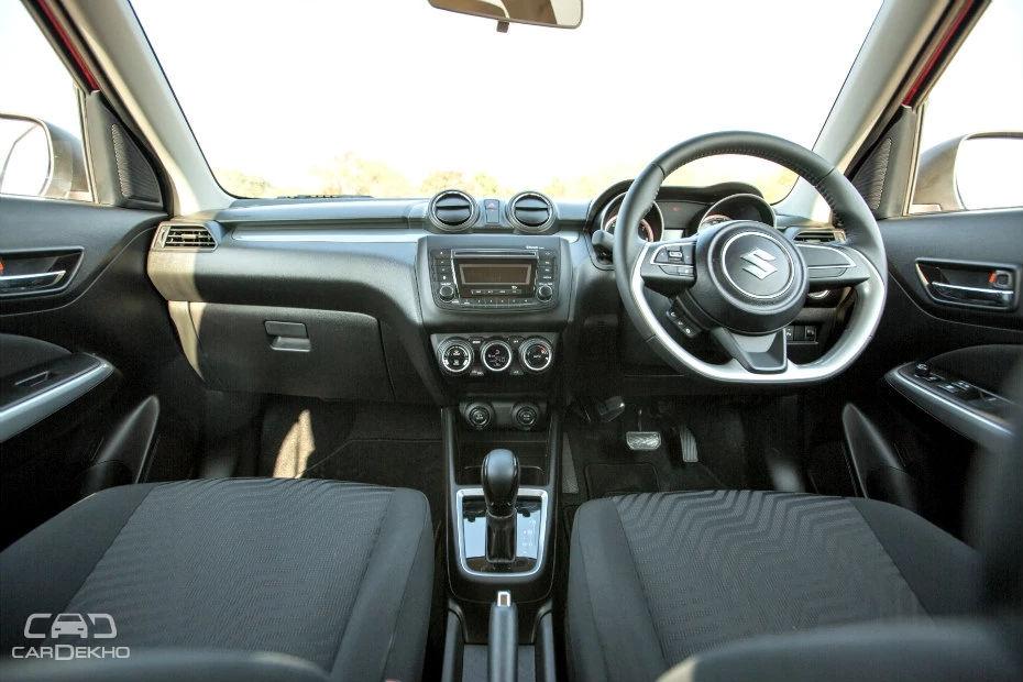 Tilt-adjustable steering is standard (dashboard of the Z variant in the image)