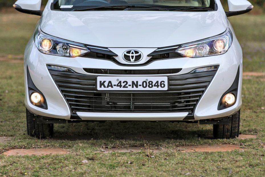 Toyota Yaris Road Test Images