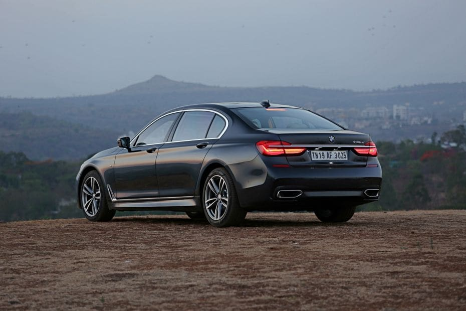 BMW 7 Series 2015-2019 Road Test Images