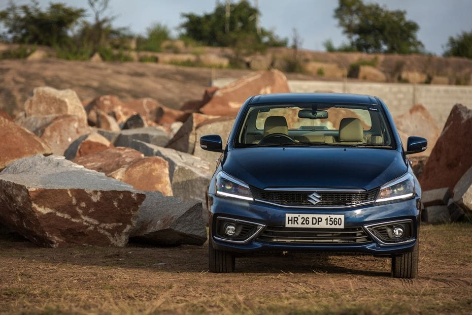 Maruti Ciaz Road Test Images