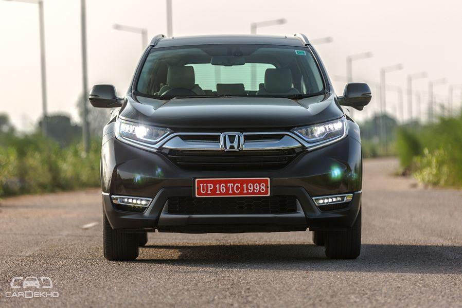 Honda CR-V Road Test Images
