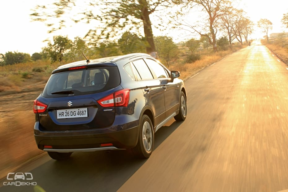 Maruti SX4 S Cross Road Test Images