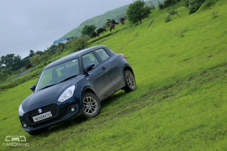 Maruti Swift Road Test Images