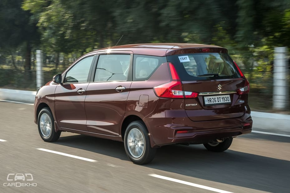 Maruti Ertiga Price, Images, Review & Specs