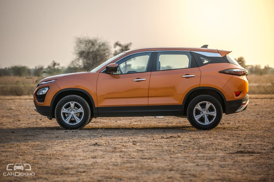 Tata Harrier Road Test Images