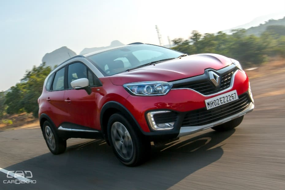 Renault Captur Road Test Images