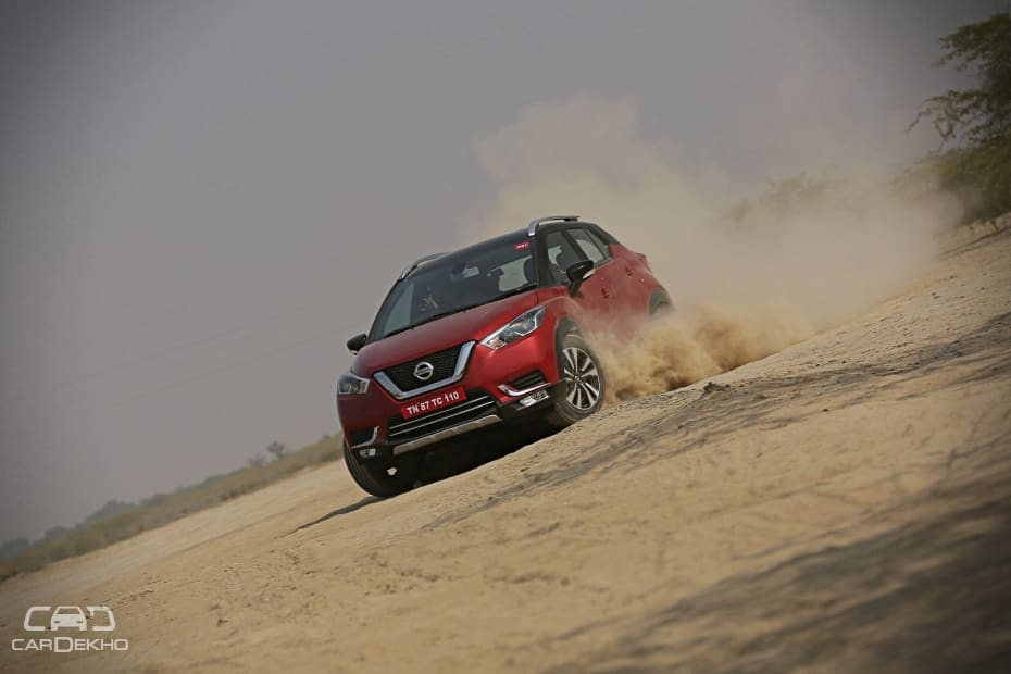 Nissan Kicks Road Test Images