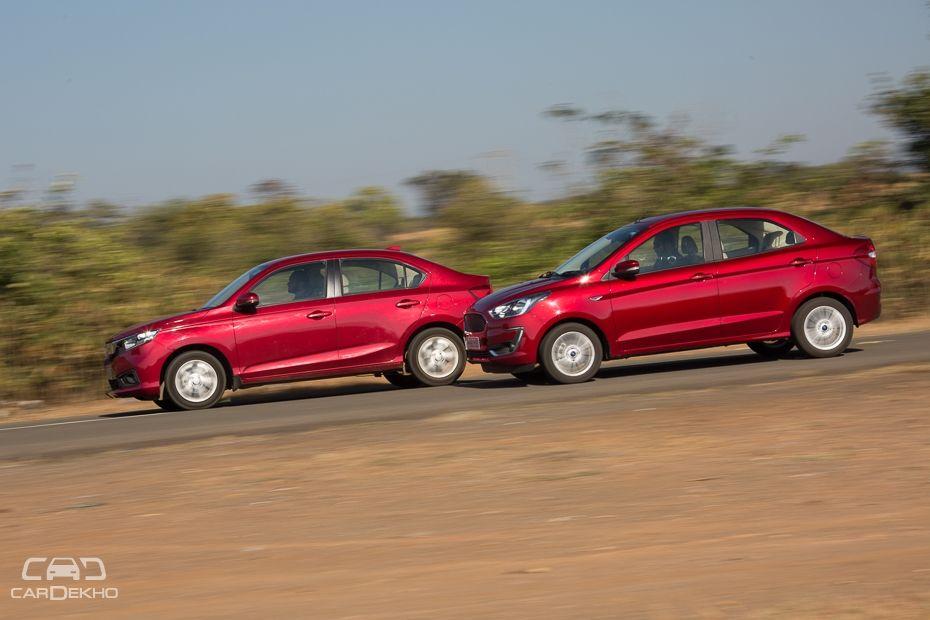 Honda Amaze vs Ford Aspire