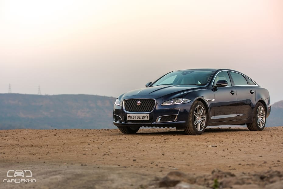 Jaguar XJ Road Test Images