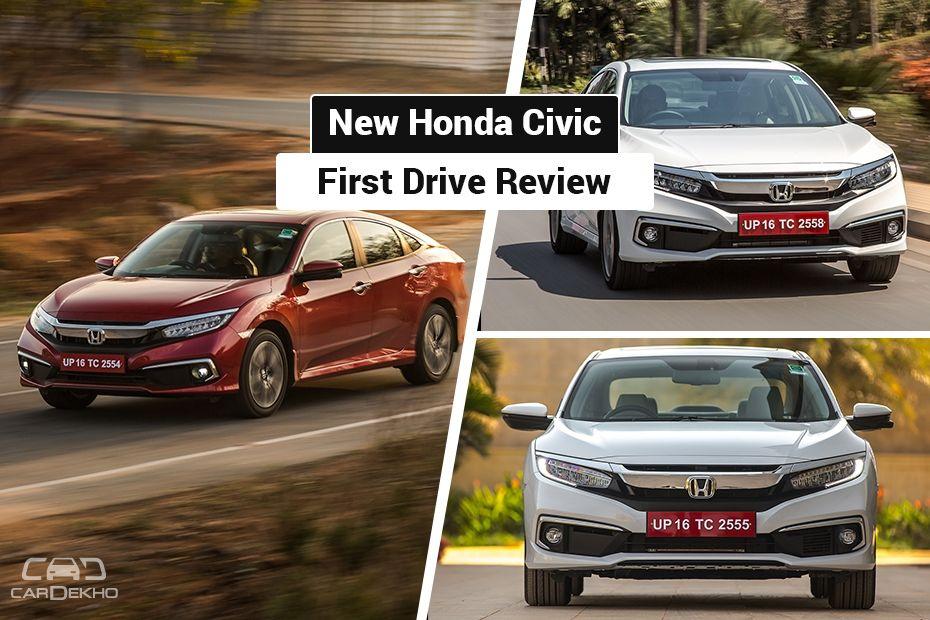 2019 Honda Civic Review First Drive Cardekho Com