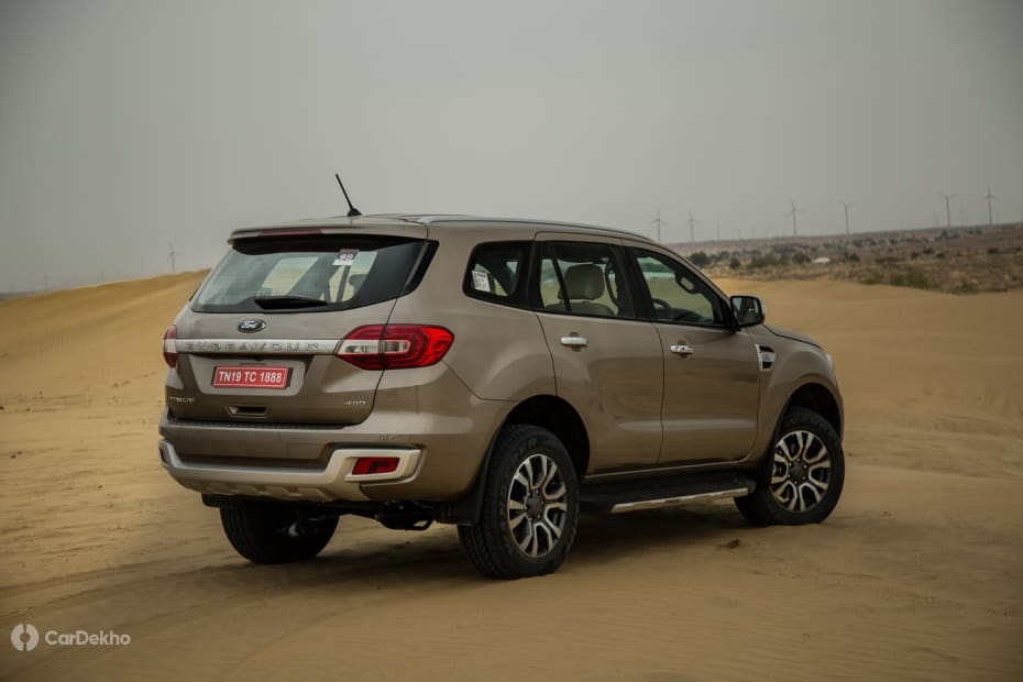 Ford Endeavour 2015-2020 Road Test Images