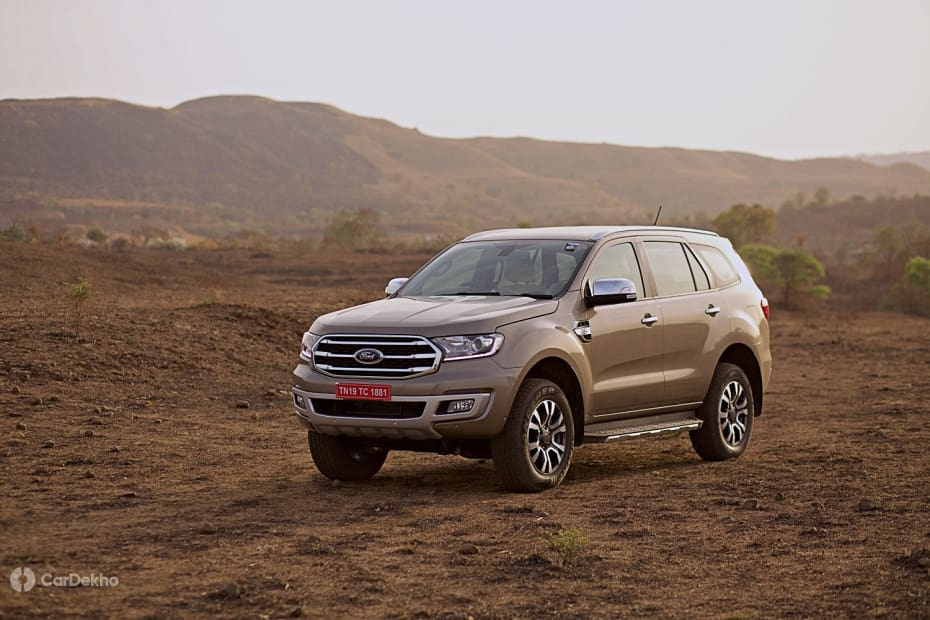 Ford Endeavour Road Test Images