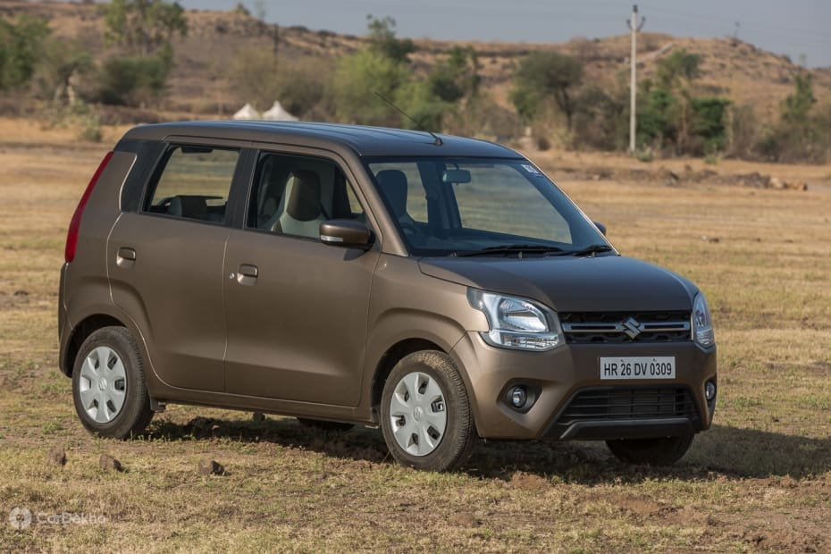 Maruti Wagon R Road Test Images