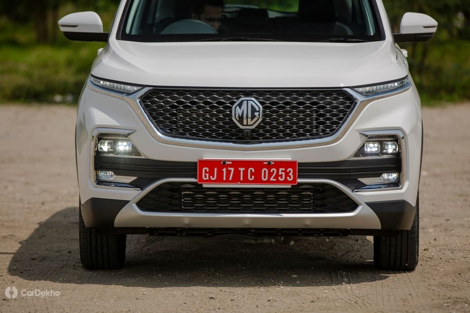 MG Hector Road Test Images