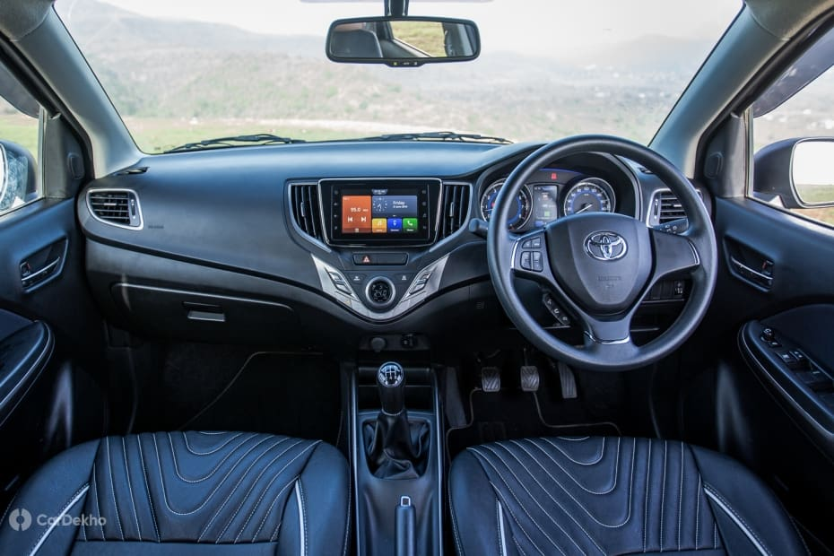 Toyota Glanza Road Test Images