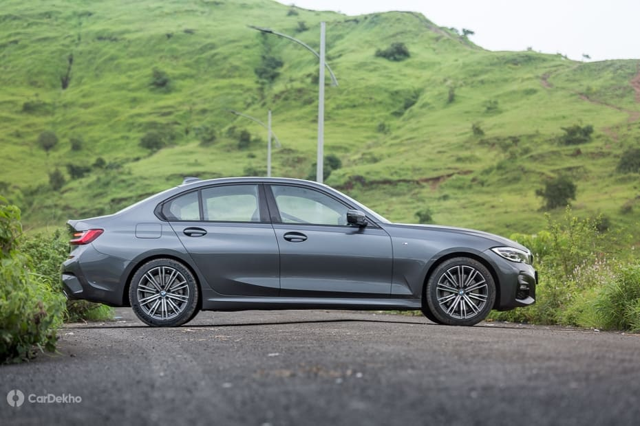 BMW 3 Series Road Test Images