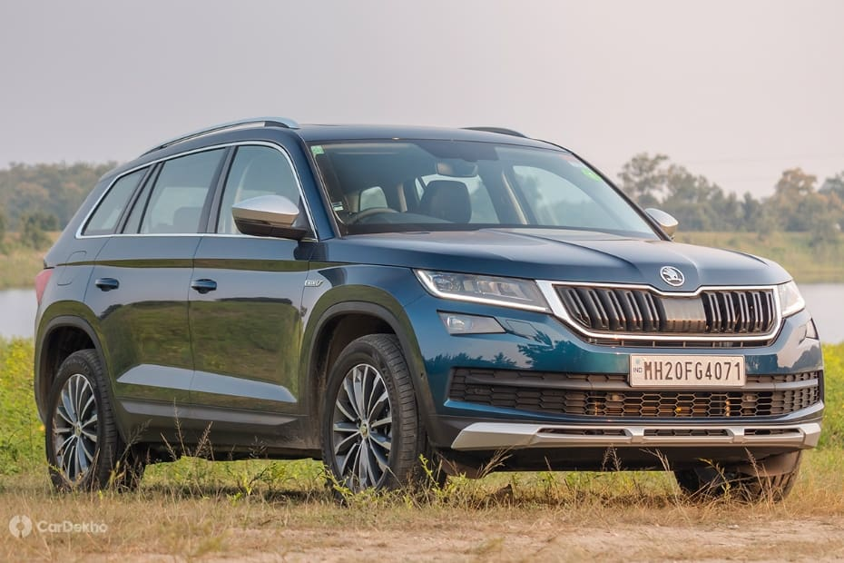 Skoda Kodiaq Road Test Images