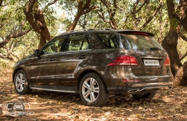 Mercedes-Benz GLE Class Road Test Images