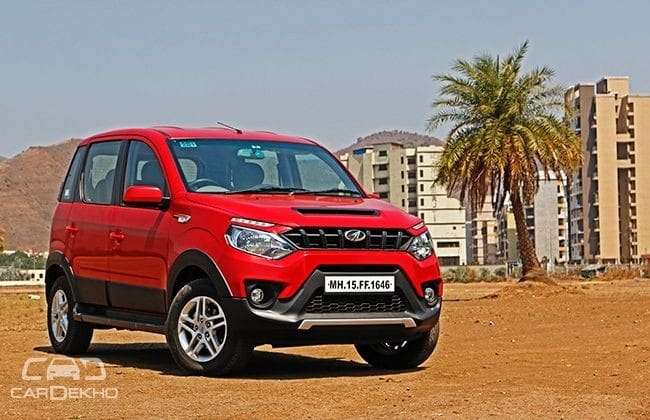 Mahindra NuvoSport Road Test Images