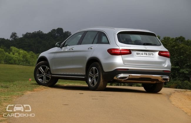Mercedes-Benz GLC 2016-2019 Road Test Images