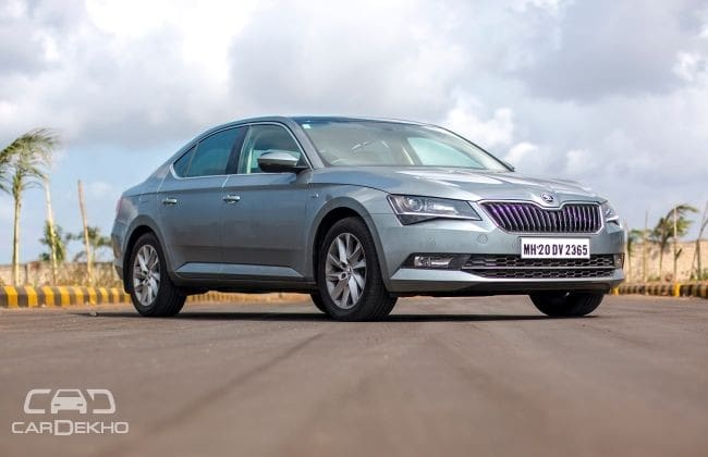 Skoda Superb 2016-2020 Road Test Images