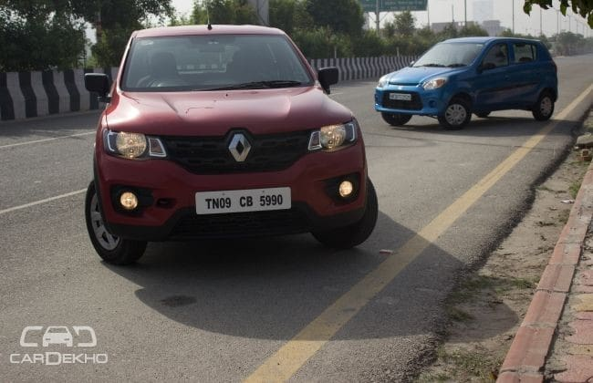 Maruti Alto 800 Road Test Images
