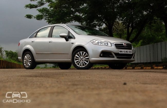 Fiat Linea Road Test Images