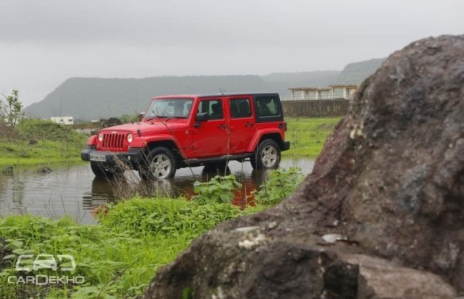 Jeep Wrangler 2016-2019 Road Test Images