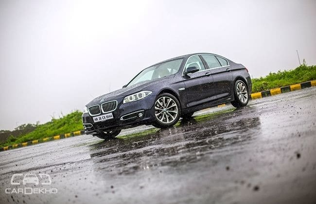 BMW 5 Series Road Test Images
